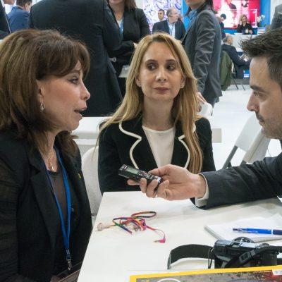 Thessaloniki Tourism Organization President Voula Patoulidou.