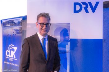 German Travel Association (DRV) President Norbert Fiebig.