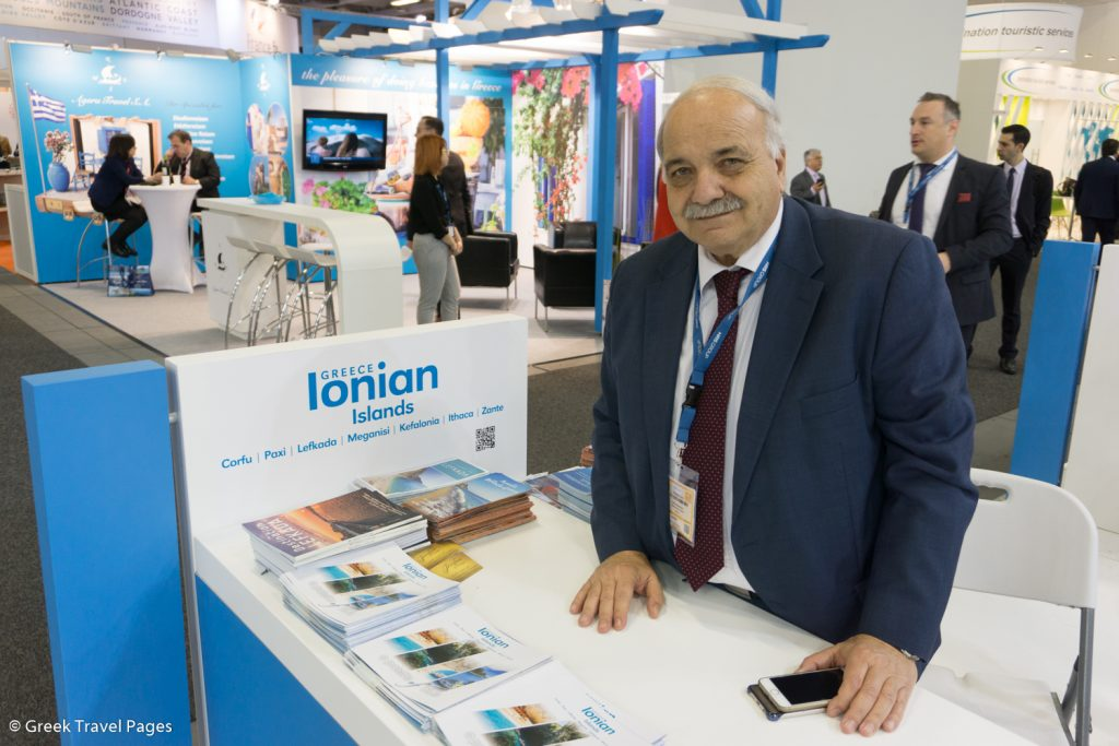 Ionian Islands Region Vice Governor of Tourism & Promotion Spyros Galiatsatos.