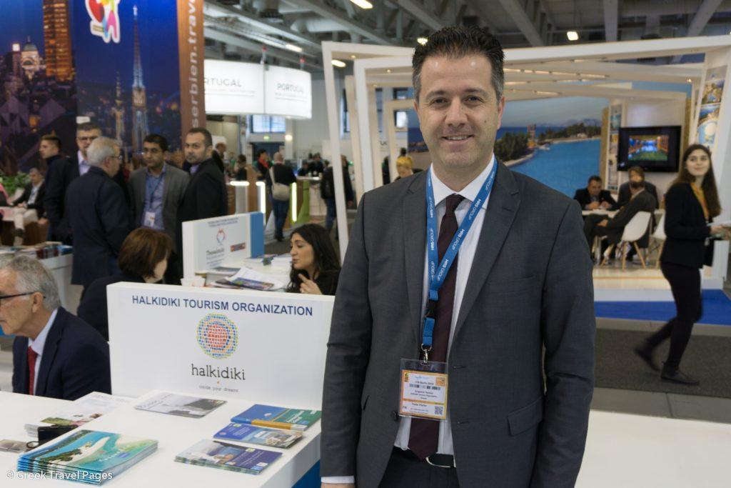 Hellenic Hoteliers Federation (POX) President Grigoris Tasios.
