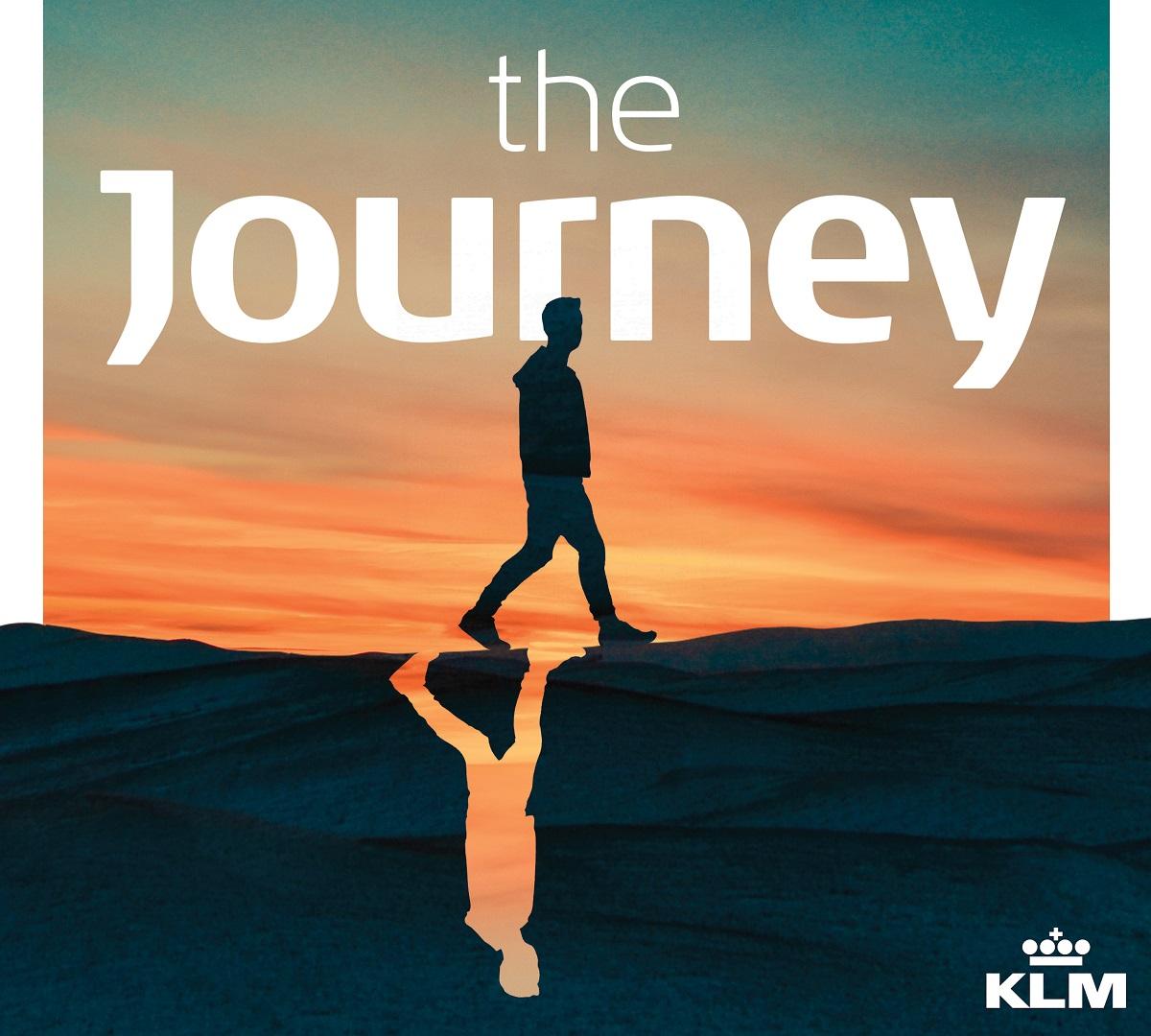 klm shares unique travel experiences through the journey podcast