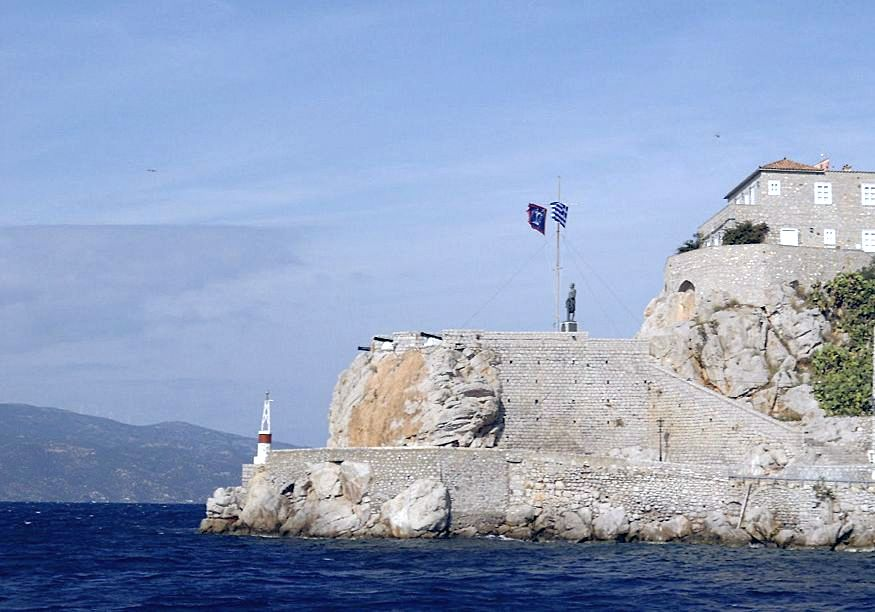 National Merchant Maritime Academy of Hydra. Photo source: isalos.net