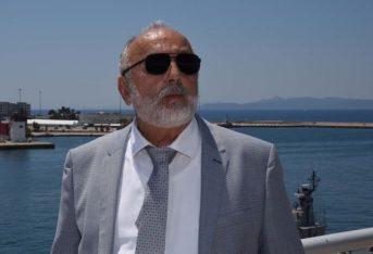 Greek Shipping Minister Panagiotis Kouroublis.