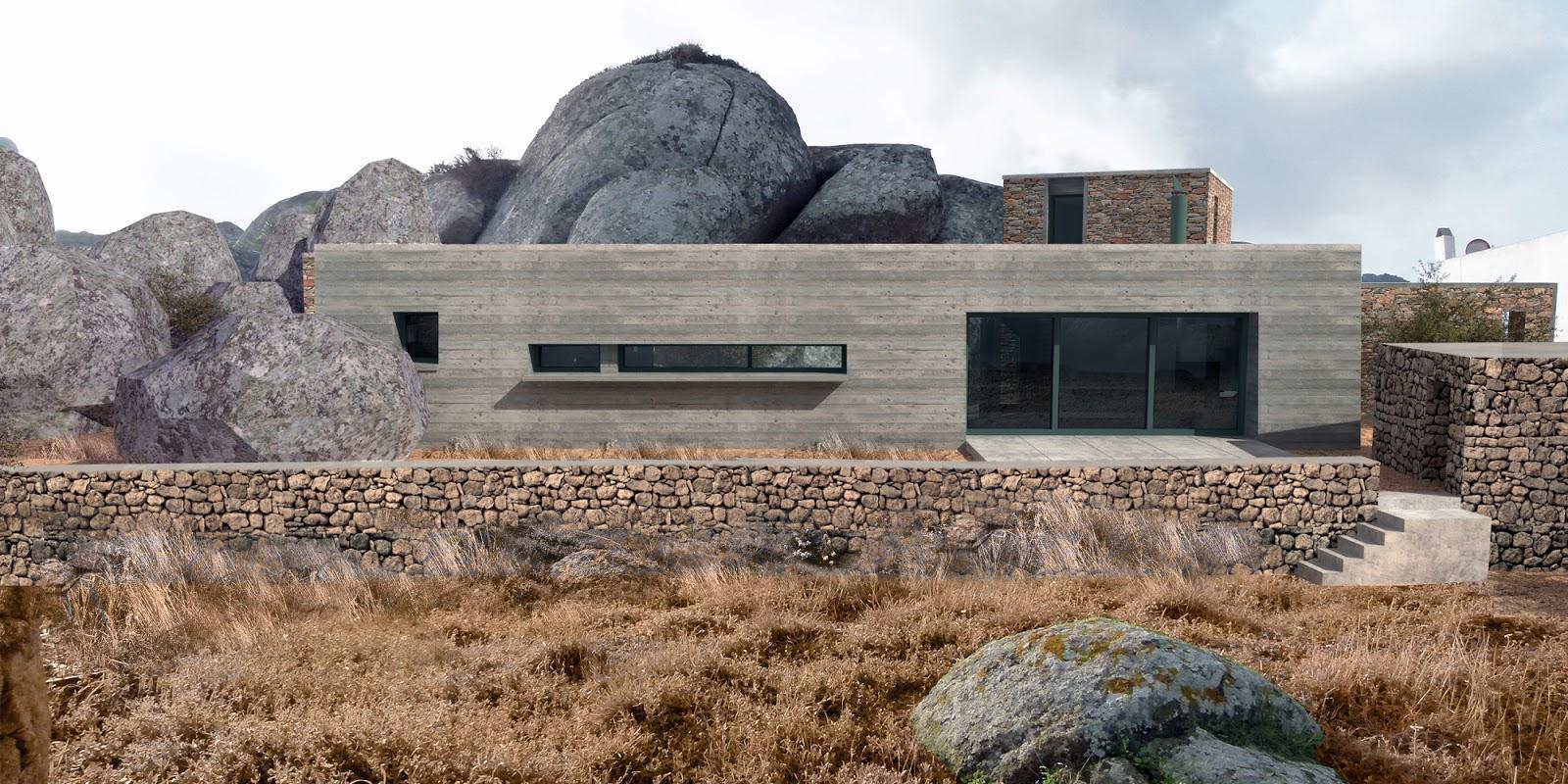 Κατοικία στην Τήνο, Αρχιτέκτων Αριστείδης Ντάλας - The Architect Show 2018