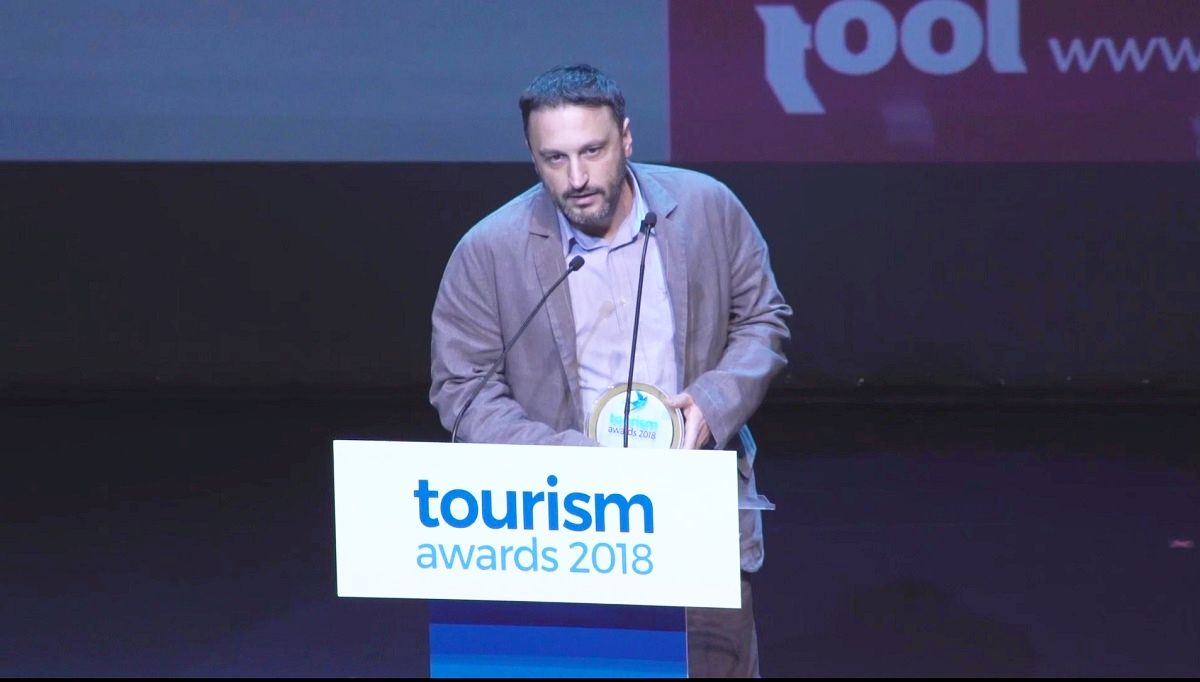 Tool CEO Kostas Karachalios received the award.