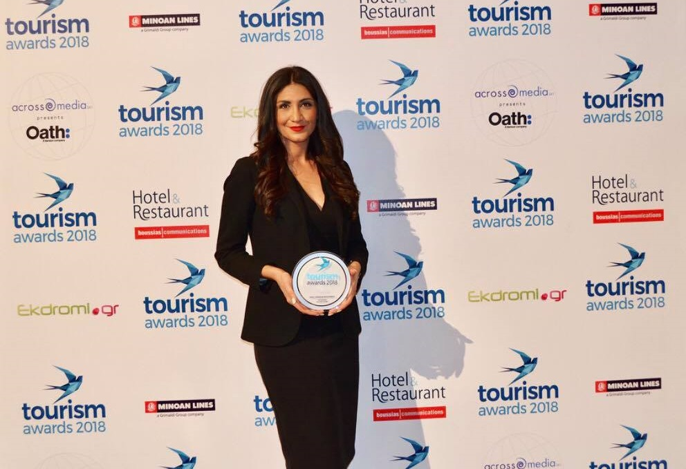 Thessaloniki Hotels Association marketing manager Chrissa Saravelou.