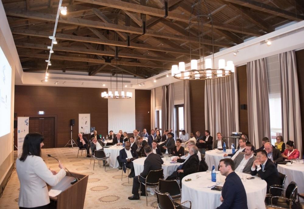 Greek Tourism Minister Elena Kountoura speaking at the 6th WTFL Think Tank 2018. Photo Source: WTFL Think Tank