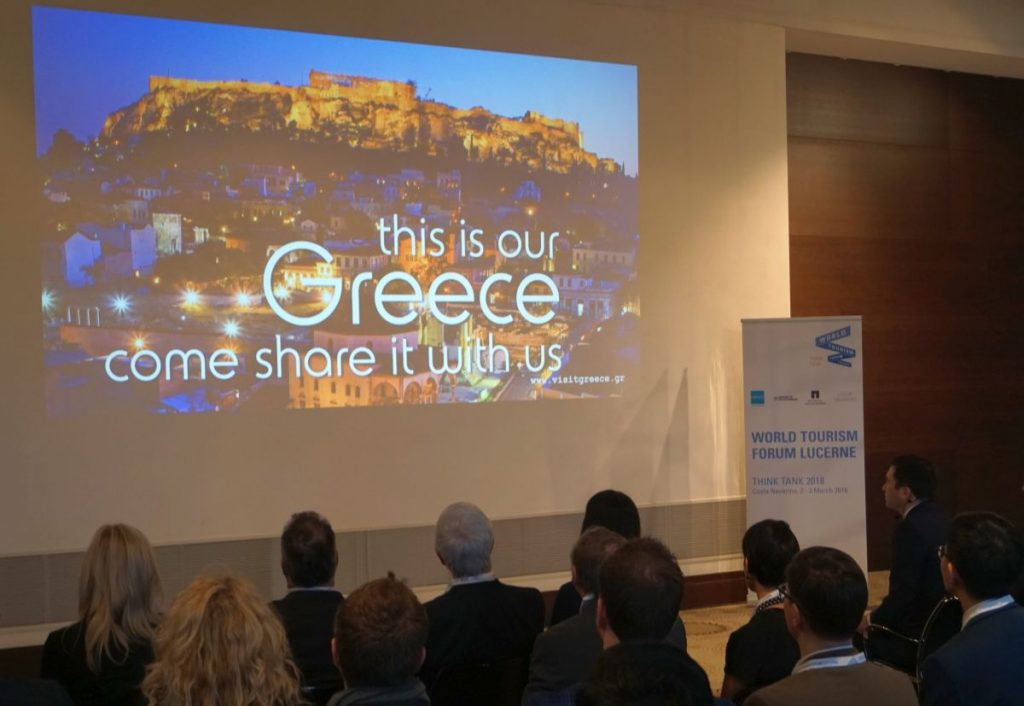 The WTFL kicked off on March 2 with a presentation of Greece's tourism offerings.