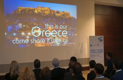 The WTFL kicked off on February 2 with a presentation of Greece's tourism offerings.