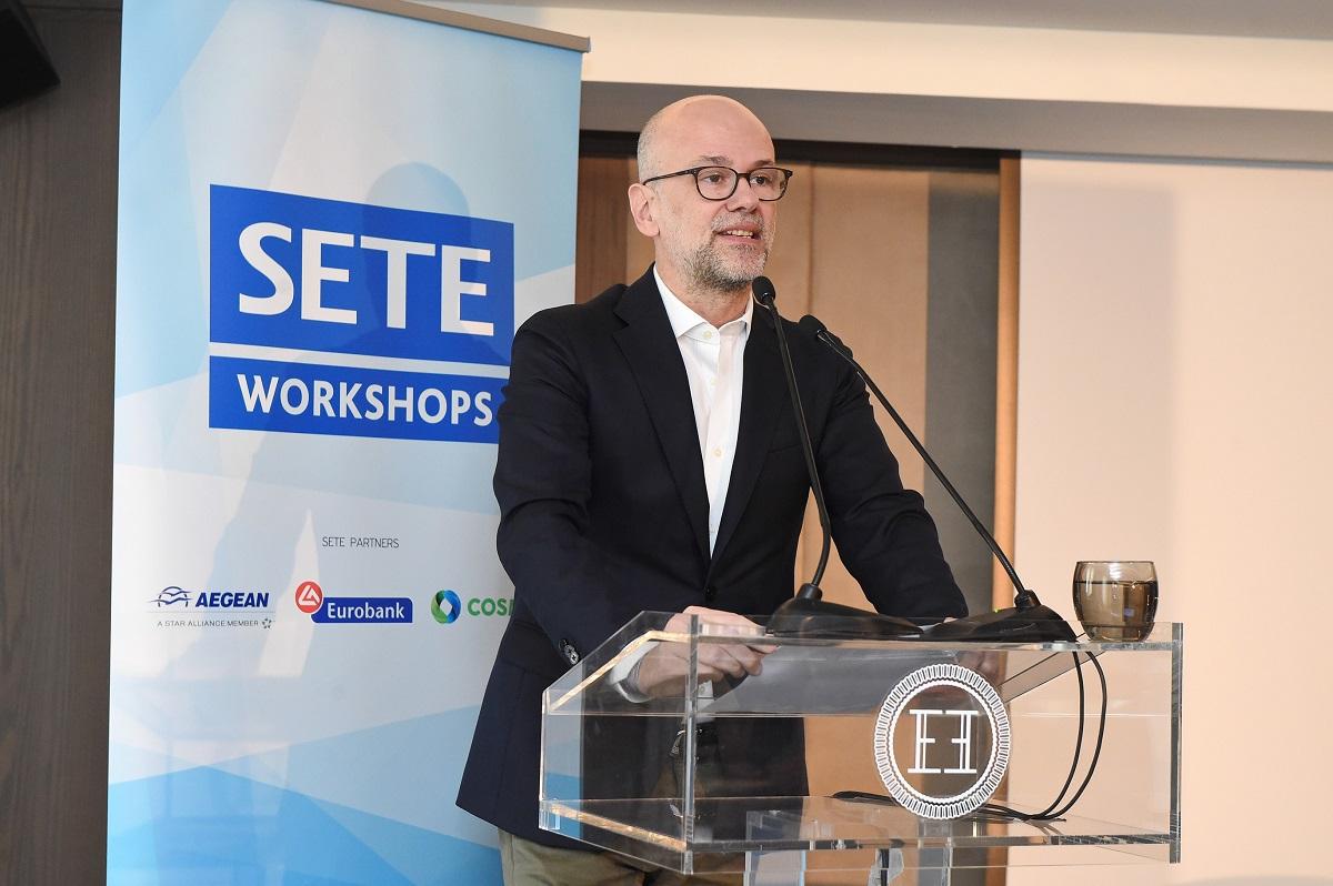 SETE president, Yiannis Retsos.