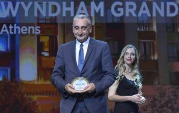 Giorgos Margaritis, general manager of Wyndham Grand Athens.