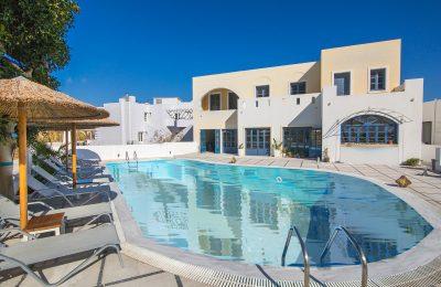 Sunshine Hotel, Santorini.