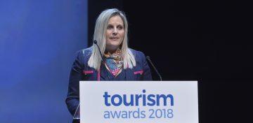 Tourism Ministry Secretary General Evridiki Kourneta.