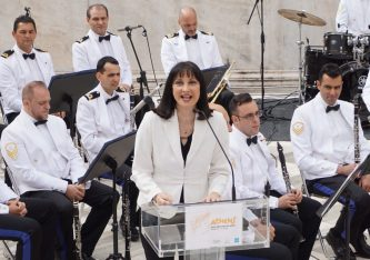 Greek Tourism Minister Elena Kountoura. Photo © Greek Travel Pages (GTP)