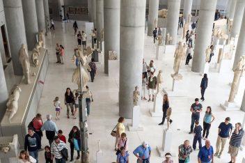 Acropolis Museum in Athens. Photo © Maria Theofanopoulou