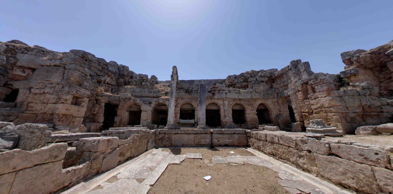 ancient corinth goes 3d as part of google cyark project gtp