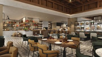 The Made in Athens restaurant. Photo source: Athens Marriott Hotel