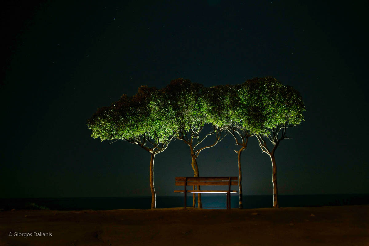 Night photography at Gorge Arini and Zacharo Beach, Giorgos Dalianis