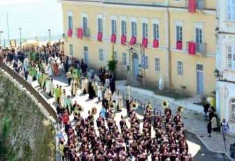 Easter on Corfu Island. Photo Source: Municipality of Corfu