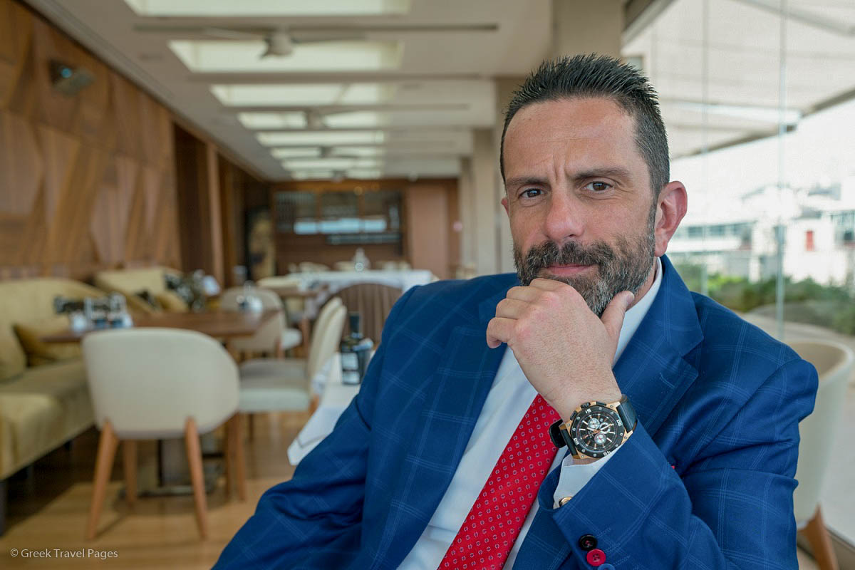 Electra Metropolis General Manager George Spyropoulos. © Greek Travel Pages