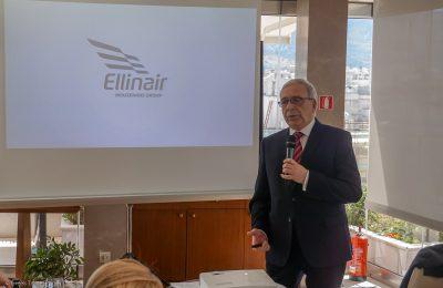 Ellinair's director, Stavros Daliakas.