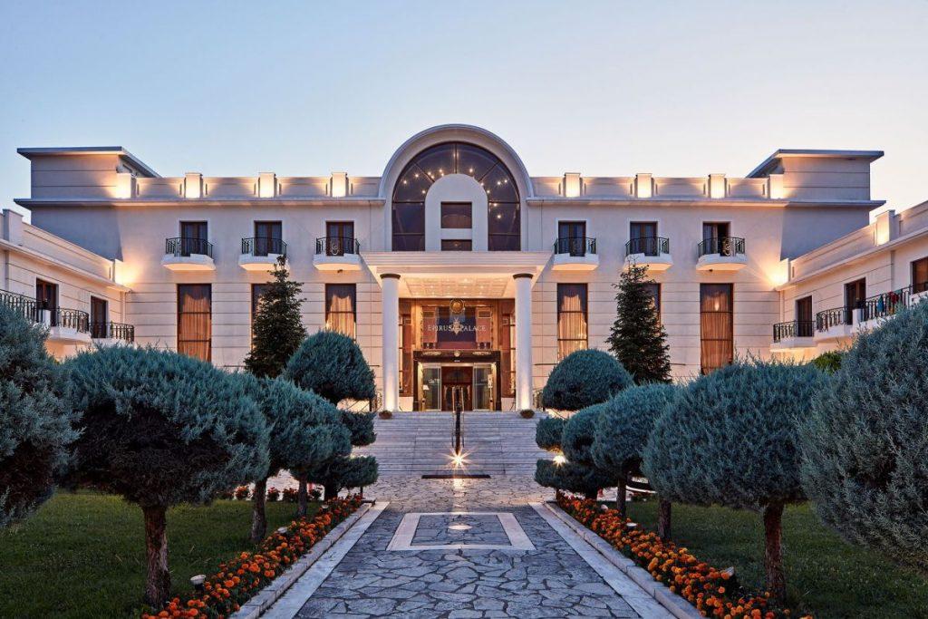 The Epirus Palace hotel in Ioannina, Epirus.