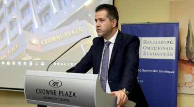 POX President Grigoris Tasios.