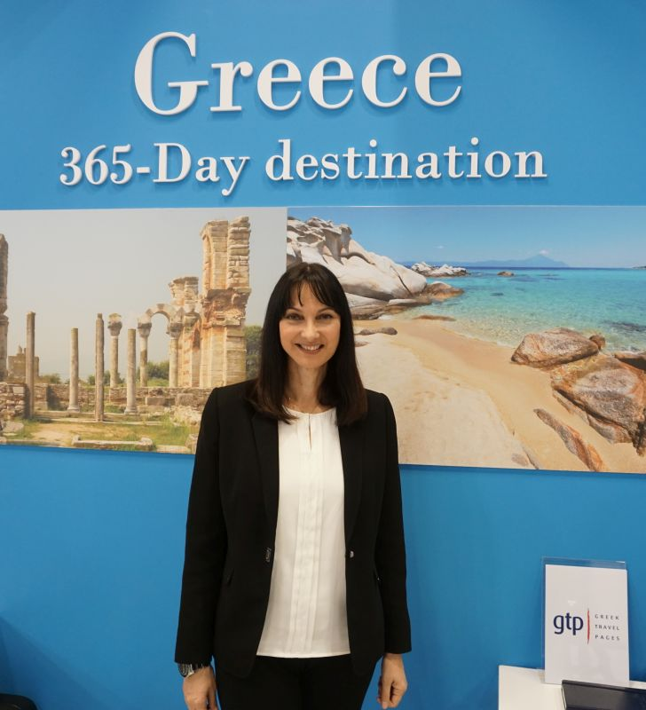 Greek Tourism Minister Elena Kountoura. Photo credit: GTP