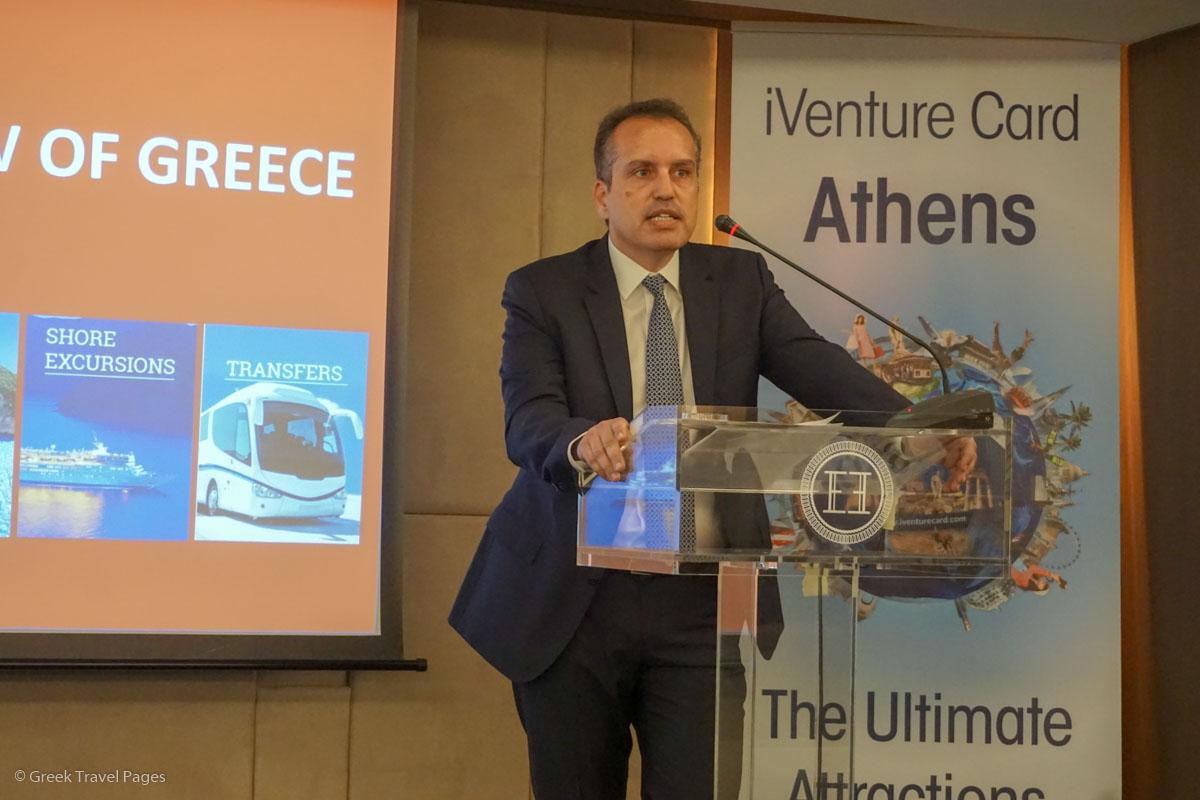 Key Tours Managing Director Dimitris Bistolas.