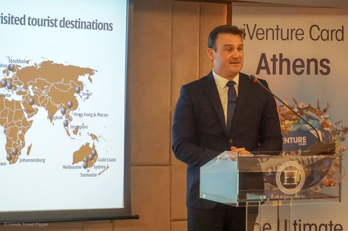 iVenture Card International CEO and President Ryan Rieveley.