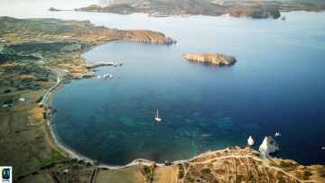 Kimolos Island. Photo Source: Cyclades Trail Cup 2018
