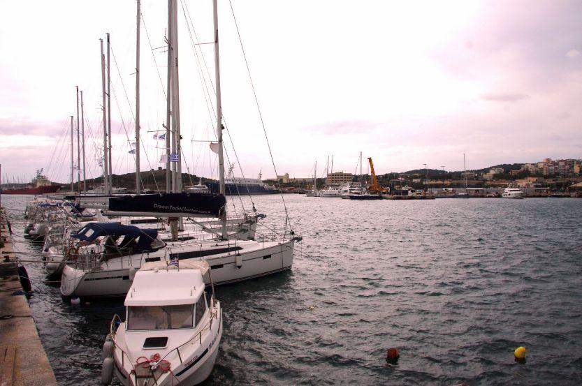 Lavrio port. Photo Source: Municipality of Lavrio