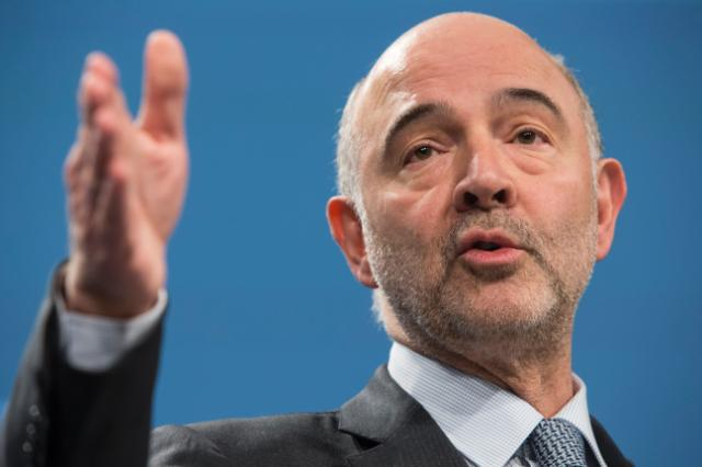 European Economic and Monetary Affairs Commissioner Pierre Moscovici.© European Union,Photo: Lukasz Kobus