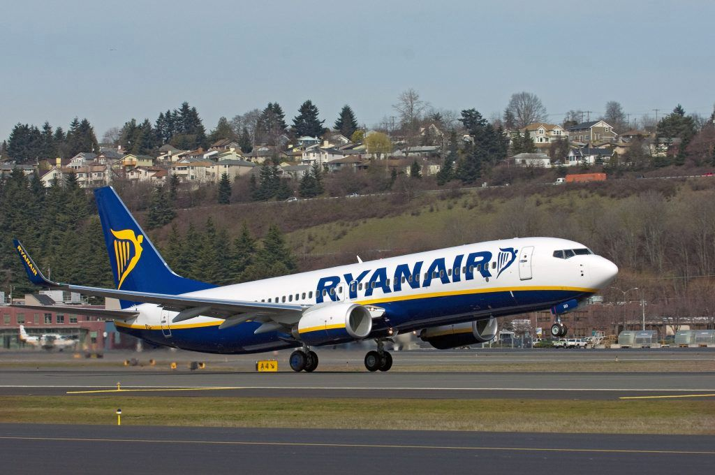 Photo source: Ryanair