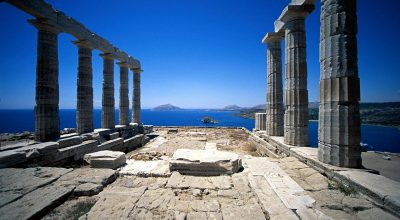 The Temple of Poseidon in Sounion. Photo Source: @Athens Attica