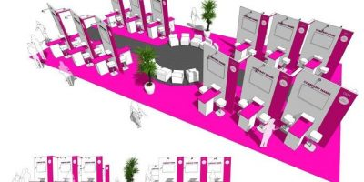 Impression of the new WTM Agency Pavilion.