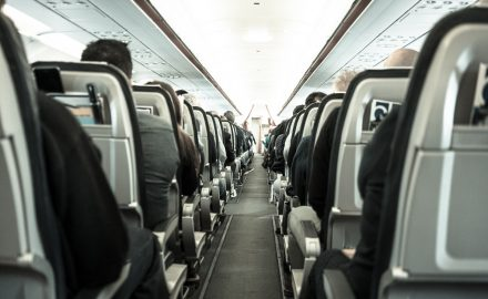 plane air passengers