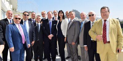 Representatives of theAmerican Hellenic Educational Progressive Association (AHEPA) recently met with Greek Tourism Minister Elena Kountoura.