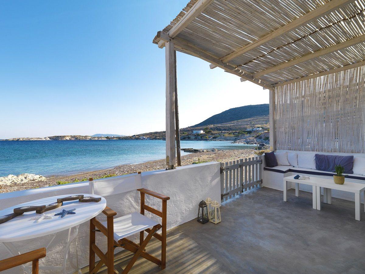 Aria Hotels Thalassa Beach House Terrasse