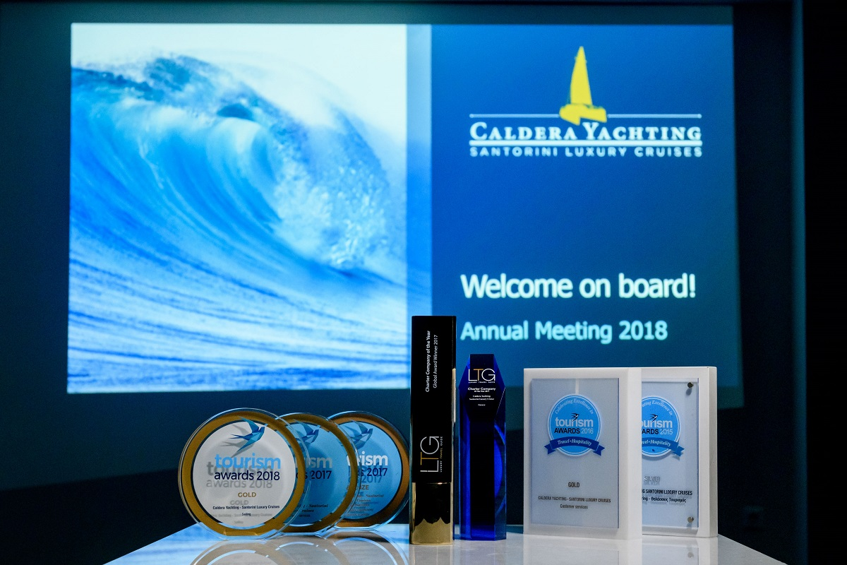 Caldera Yachting Conference 2018 in Santorini