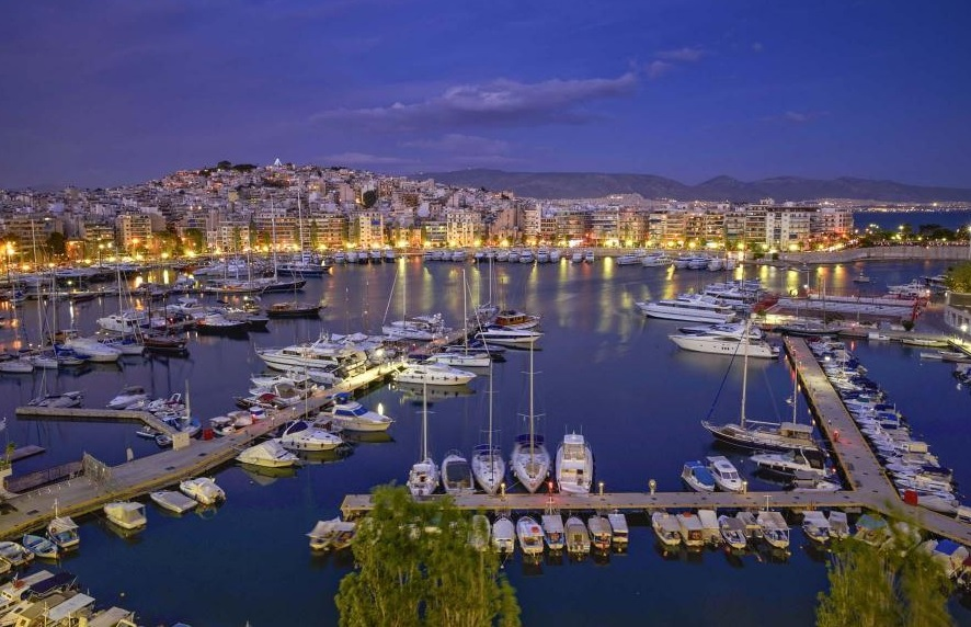 Pasalimani, coast of Zea, Piraeus. Photo Source: Destination Piraeus