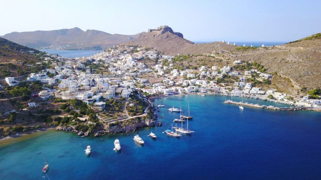 Village of Agia Marina on Leros. Photo source: Discovergreece.com