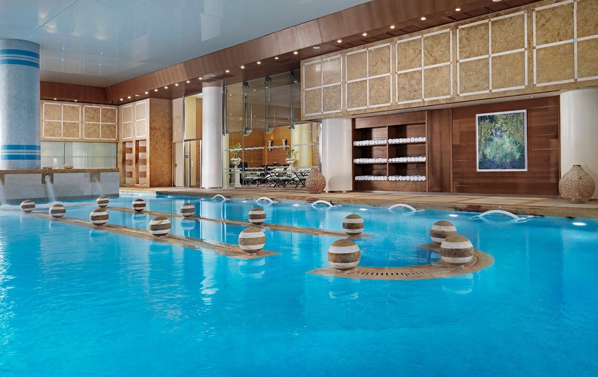 The Divani Apollon spa and thalassotherapy center.
