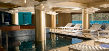 The spa facilities of the Domes of Elounda Authograph Collection.