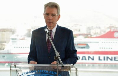 US Ambassador to Greece Geoffrey Pyatt. Photo Source: US Embassy & Consulate, Greece