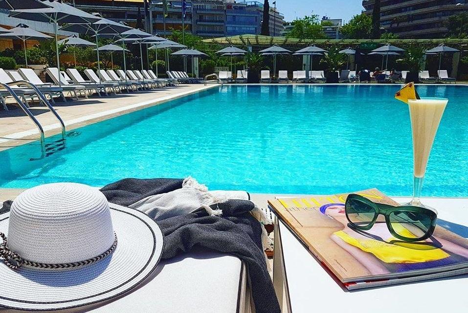 Hilton Athens 39 Pool Area Gets New Look Gtp Headlines