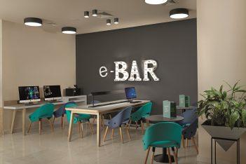 The e-Bar.