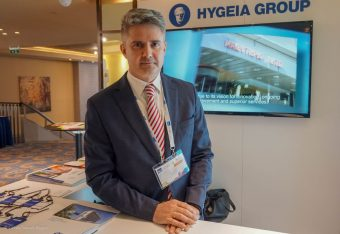 Hygeia Hospital Group Commercial Account Manager George Soras.