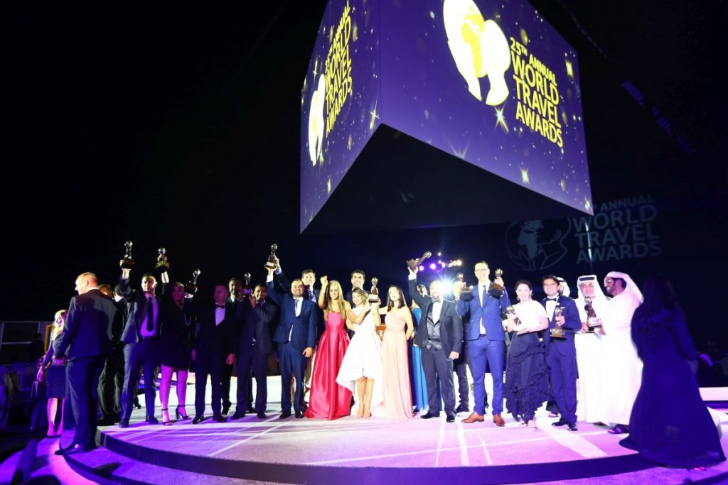 The recently held World Travel Awards (WTA) Middle East Gala Ceremony 2018. Photo source: WTA