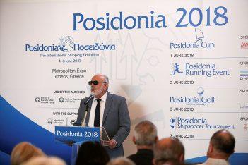 Greek Minister of Maritime Affairs & Insular Policy, Panagiotis Kouroumplis.